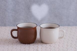 ハートとコーヒー