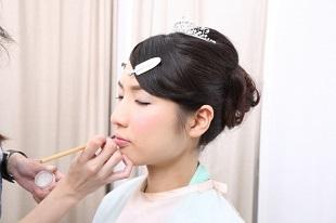 花嫁のメイク