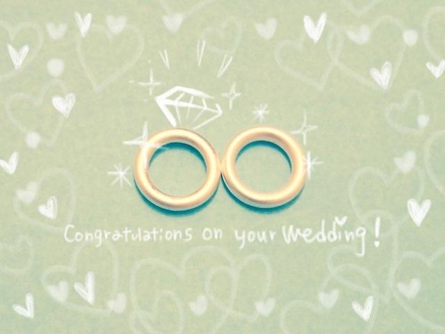 幸せの婚約指輪